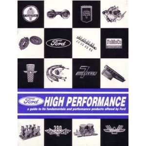 1964 1965 1966 FORD Performance Sales Brochure Book