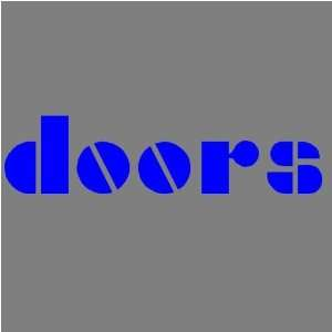 THE DOORS (BLUE) DECAL STICKER WINDOW CAR TRUCK TRAILER Automotive
