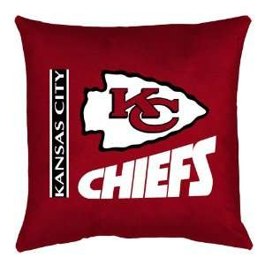 Kansas City Chiefs Locker Room Pillow by Sports Coverage
