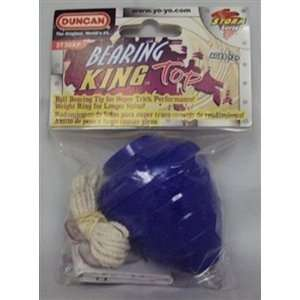Duncan Bearing King Spin Top   Blue Toys & Games
