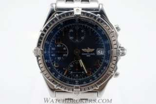 Breitling Windrider Blackbird Mens Stainless Steel Watch Ref. A13050