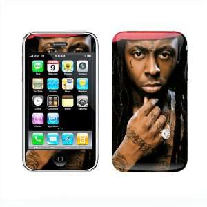 Lil Wayne Vinyl Skin Protector for Iphone3 Cell Phones