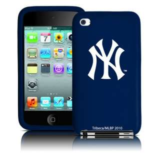 New York Yankees iPod Touch 4th Gen Silicone 4g Case
