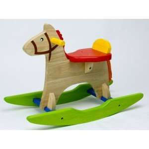 My First Wooden Rocking Horse Toys & Games