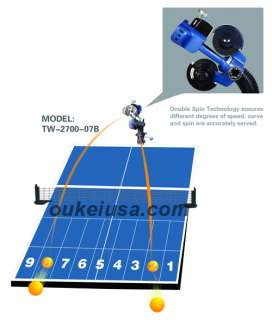 Oukei Table Tennis Robot TW 2700 07B