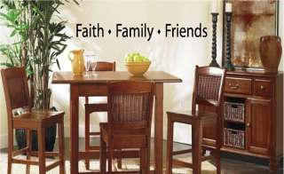Faith Family Friends Vinyl Wall Art Words Decals Stickers Decor Sticky