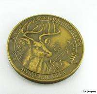 NORTH AMERICAN HUNTING CLUB   Whitetail Deer Medallion