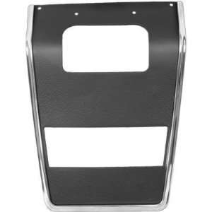 Panel Center, without Air conditioning or Radio, Black Automotive