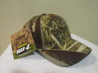 NEW SKEETER Fishing Boat Bass Camo Advantage Max 4 Hat Cap Camouflage