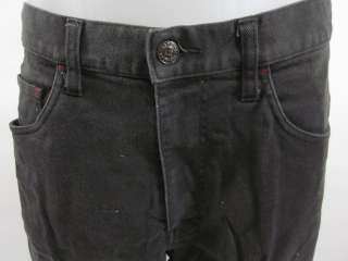 You are bidding on a pair of ARMANI EXCHANGE Mens Gray Straight Leg