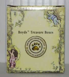 Boyds Treasure Box Bennys Alarm Clock