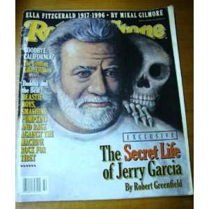 Rolling Stone August 8 1996 Jerry Garcia Cover Rolling Stone Books