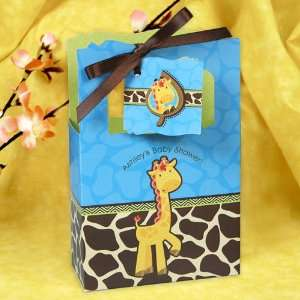 Giraffe Boy   Classic Personalized Baby Shower Favor Boxes