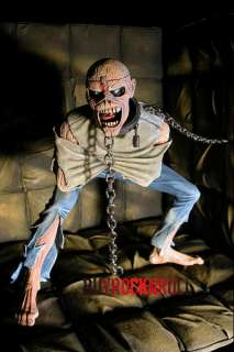2010 NECA Iron Maiden Piece of Mind Eddie Figure & Padded Cell Diorama