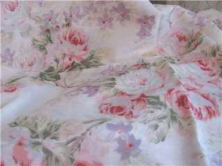PAIR  RACHEL ASHWELL DRAPES shabby AMANDA chic panels 42 x 84 each