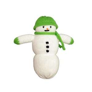 personalized snowman doll green hat Toys & Games