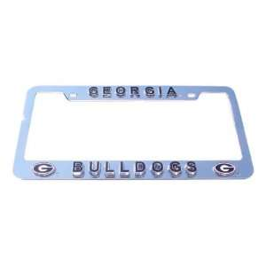 Georgia Bulldogs License Plate Tag Frame Sports