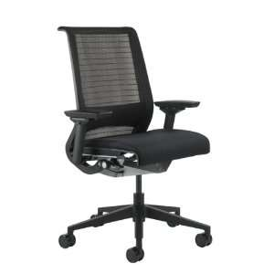 Think Chair by Herman Miller   Adjustable Arms   Black