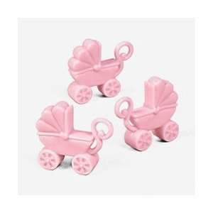 Pink Baby Carriage Favors (12 dozen)   Bulk Toys & Games
