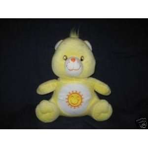 Care Bears 10 Funshine Bear Plush   2003 Nanco