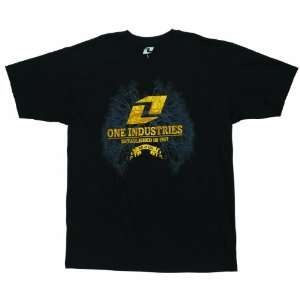 2012 ONE INDUSTRIES BREATHE TEE SHIRT BLACK XXL 2XL2XL