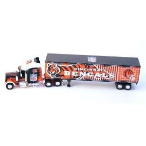 Bengals Diecast Semi Truck Tractor Trailer 180 Scale Toys & Games