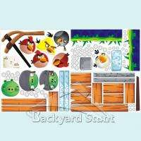 NEW Angry Birds Wall Stickers/Decal Children Office Class Home