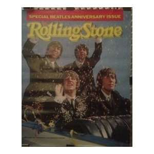 The Beatles Rolling Stone Magazine 1984 20th Anniversary