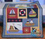 Boutique Baby Boy Sailor 13PCS CRIB BEDDING SET