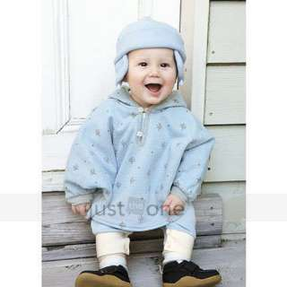Baby Children Boys Girls Double side Wear Hoodie Cloak Poncho Cape