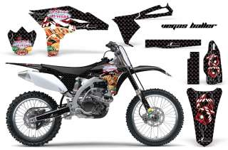 AMR RACING MOTORCYCLE STICKER DIRT BIKE DECAL KIT YAMAHA YZ 250 F YZF