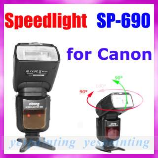 TLL Flash Speedlite for Canon EOS 60D 600D 7D DSLR