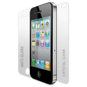 3x Anti Glare Premium Screen Protector for iPhone 4. Full