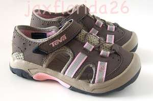Teva Kids Omnium Water Friendly Sandals Shoes sz 8 Toddler NEW Brown