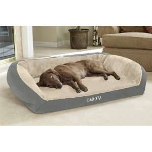 Orvis Tempur pedic Faux fur Deep Dish Dog Bed / Small
