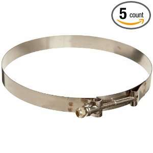 Murray TBSS Series Stainless Steel 300 Bolt Hose Clamp, 7