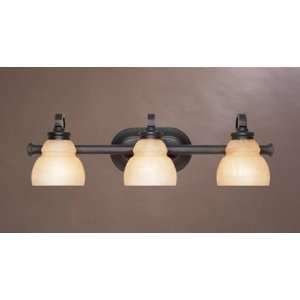 Designers Fountain Carlton Bathroom Light   Aged Bronze