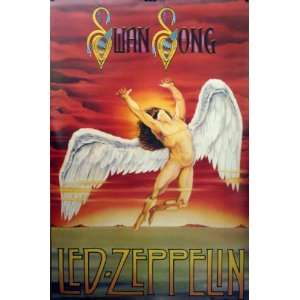 Led Zeppelin Swan Song 23x35 Poster 1986