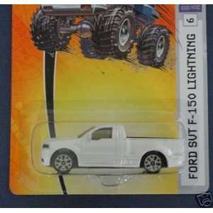 2006 164 Scale Pearl White Ford SVT F 150 Lightning Die Cast Truck #6