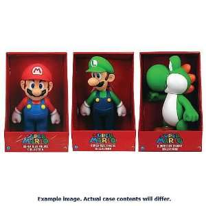 Super Mario 9 Inch Action Figures Wave 1 Case Toys & Games