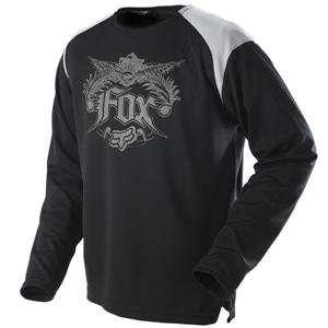 Fox Racing Panther Jersey   2008   Large/Black/Grey