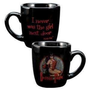 Bettie Page Never was the girl next door Mini Mug