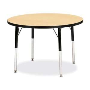 Jonti Craft RidgeLine Kydz Activity Round Preschool Table Furniture