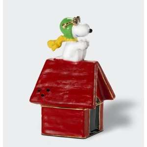 Dept. 56 Peanuts Snoopy The Flying Ace Jeweled Box