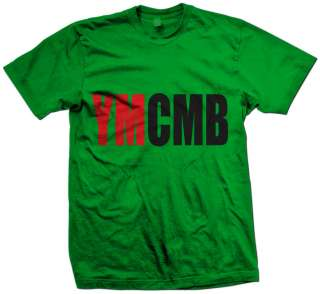 YMCMB 2 COLER T SHIRT MONEY WAYNE YOUNG WEEZY LIL RAP NEW HIP HOP
