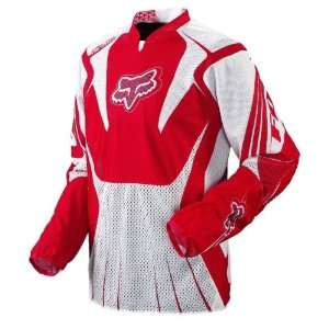 Fox Racing Airline Jersey   2008   XX Large/Red