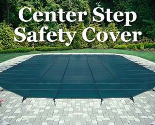 Arctic Armor Mesh Pool Safety Cover   Center Step 12 yr