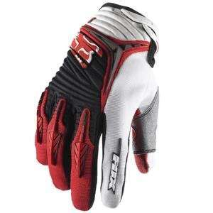 Fox Racing Youth Blitz Gloves   Youth Large/Red Automotive