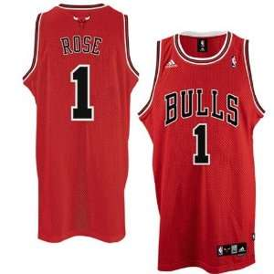 Derrick Rose #1 Chicago Bulls Swingman NBA Jersey Red Size