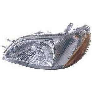 00 02 TOYOTA ECHO HEADLIGHT LH (DRIVER SIDE) (2000 00 2001